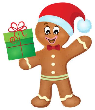 christmas gifts: Gingerbread man theme image