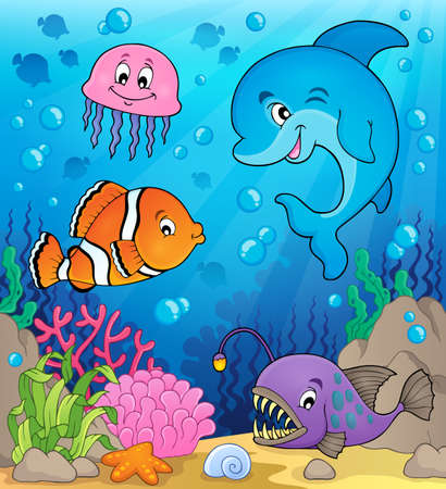 clownfish: Ocean fauna topic image