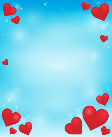 Abstract background with heart theme 4 - eps10 vector illustration.