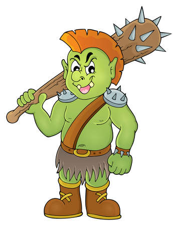 a cudgel: Orc theme image.