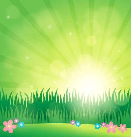 topic: Spring topic. Illustration