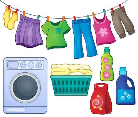 washing: Laundry theme image