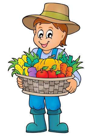 basket: Farmer tropic image