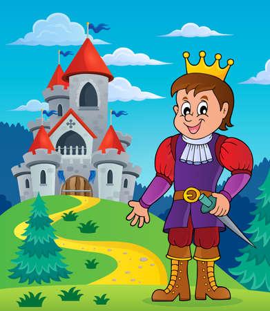 monarchy: Prince theme image Illustration