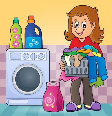 laundry room: Laundry theme image