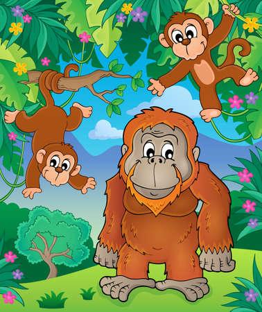 orangutan: Orangutan theme image