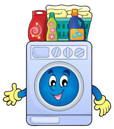 washer machine: Washing machine theme image