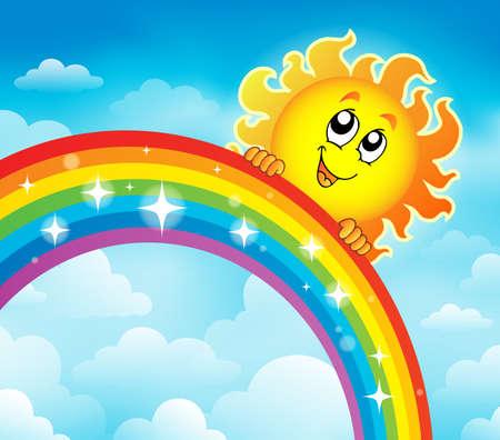 meteorology: Rainbow topic image