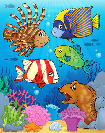 moray: Ocean fauna topic image