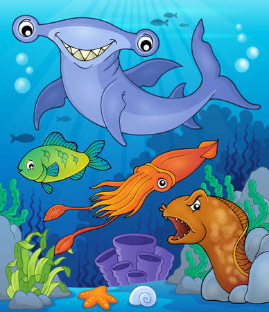 habitats: Ocean fauna topic image