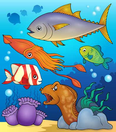 fauna: Ocean fauna topic image