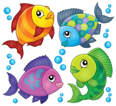 topic: Fish topic image 2 - eps10 vector illustration.