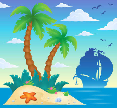 island: Tropical island