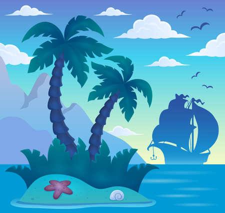 tropical: Tropical island