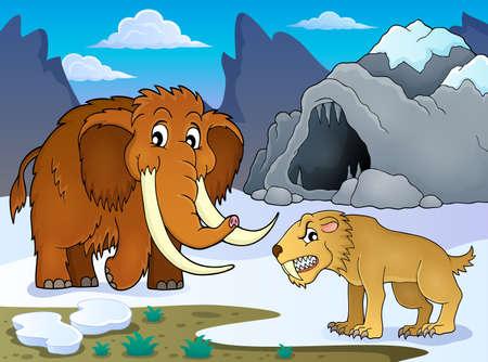 prehistory: Prehistoric theme