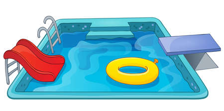water chute: Pool theme image