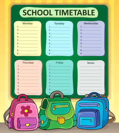 weekly: Weekly school timetable composition