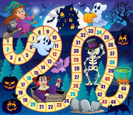 bowl game: Board game  Halloween