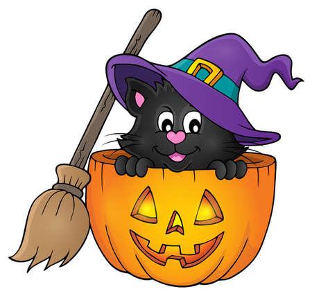 theme: Halloween cat