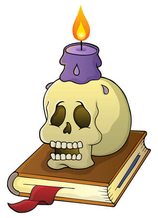 theme: Skull theme Illustration