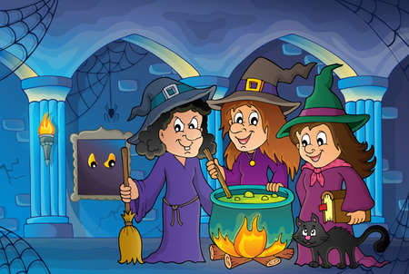 stirring: Three witches theme image