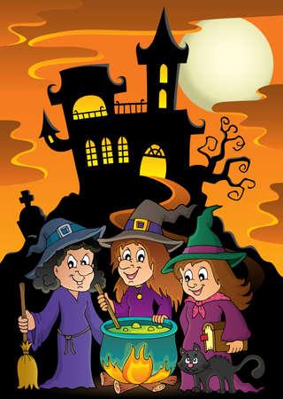 stir: Three witches theme