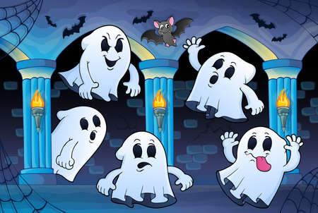 midair: Ghosts in haunted castle theme