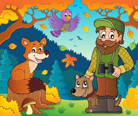Forester theme Illustration