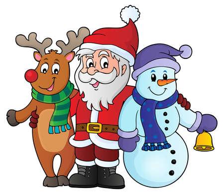 christmas characters: Christmas characters theme