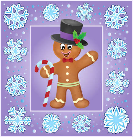 biscuit: Christmas   greeting card