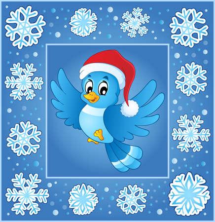 subject: Christmas subject greeting card Illustration