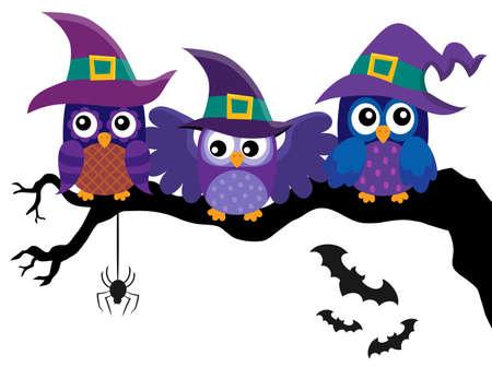 Owl witches theme image