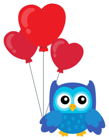 topic: Valentine owl topic