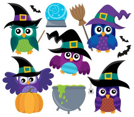 Owl witches theme