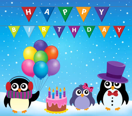outdoor event: Party penguin