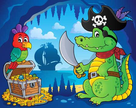 hideout: Pirate crocodile theme 3