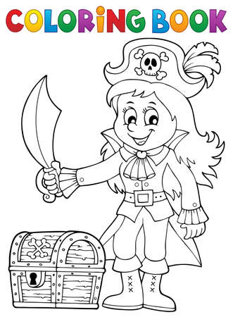 Colouring Book Pirate Stock Photos & Pictures. Royalty Free ...