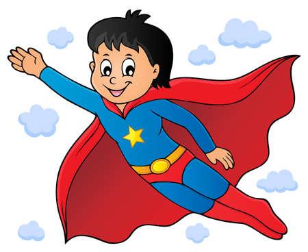 Super hero boy theme image