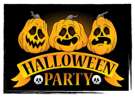 Halloween party sign image 3.