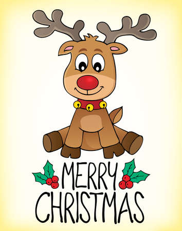 Merry Christmas topic image 2 - eps10 vector illustration.