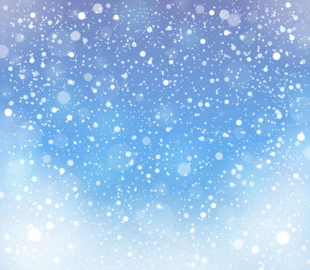 Abstract snow topic background, vector illustration. Illustration