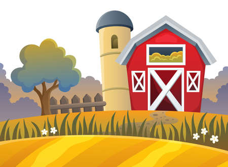 Farm topic image 9 - eps10 vector illustration.
