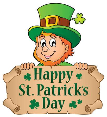 Happy St. Patricks Day theme - vector illustration.