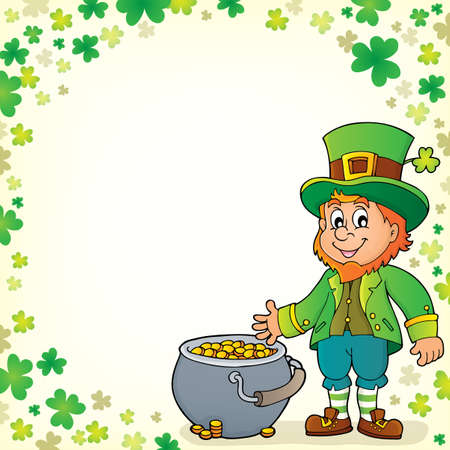 Leprechaun theme image 6 - eps10 vector illustration.