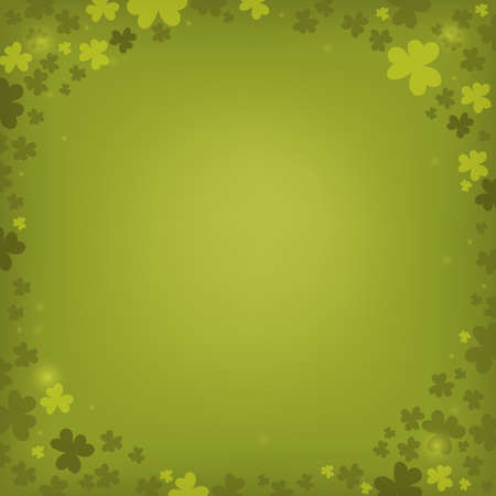 Three leaf clover abstract background 6 - eps10 vector illustration.