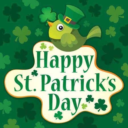 Happy St Patricks Day theme Illustration