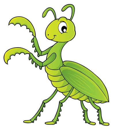 Praying mantis theme image