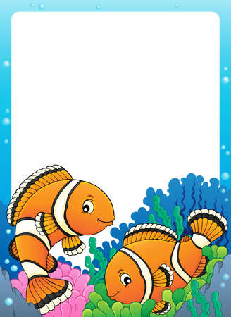 Clownfish topic frame