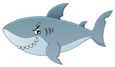 Shark topic image 矢量图像