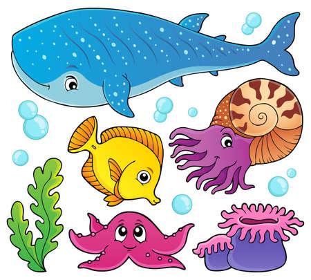 Ocean life theme